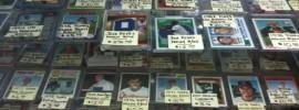 baseball card shop
