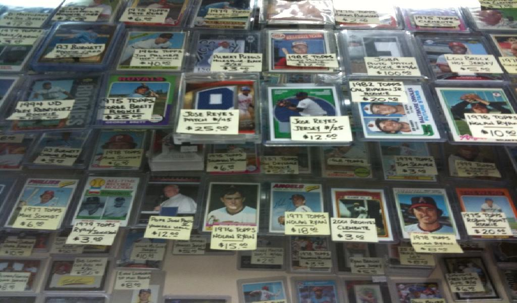 Baseball Card Shop Inventory Mike Mcritchie Ageproof Career
