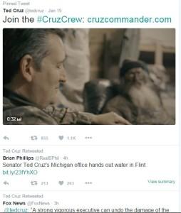 Cruz Tweets