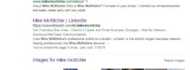 Mike McRitchie on Google