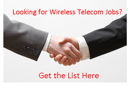 Wireless Telecom Jobs List Get the List Here